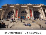usa. new york. manhattan.... | Shutterstock . vector #757219873