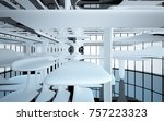 abstract dynamic interior with...   Shutterstock . vector #757223323