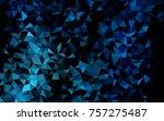 light blue vector abstract... | Shutterstock .eps vector #757275487