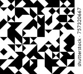 black and white  abstract... | Shutterstock .eps vector #757320667