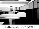 abstract dynamic interior with... | Shutterstock . vector #757351927