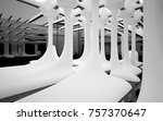 abstract dynamic interior with... | Shutterstock . vector #757370647