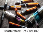 drug addiction   narcotic  ... | Shutterstock . vector #757421107