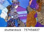amphibolite rock under the... | Shutterstock . vector #757456837