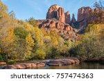 Cathedral Rock Autumn Landscap...