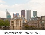 binnenhof palace  place of... | Shutterstock . vector #757481473