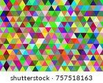 abstract seamless mosaic... | Shutterstock .eps vector #757518163