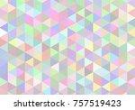 abstract seamless light mosaic... | Shutterstock .eps vector #757519423