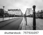 traditional architecture of... | Shutterstock . vector #757531057