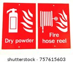 sign background  dry powder... | Shutterstock . vector #757615603