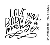 love was born in a manger