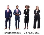 group of people | Shutterstock . vector #757660153