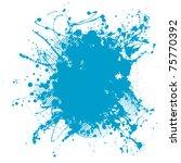 Grunge Ink Splat Background...