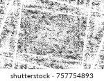 grunge black and white seamless ... | Shutterstock . vector #757754893