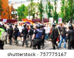 kyiv  ukraine   june 18  2017 ... | Shutterstock . vector #757775167