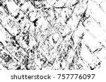 grunge black and white seamless ... | Shutterstock . vector #757776097