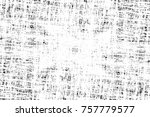 grunge black and white seamless ... | Shutterstock . vector #757779577