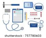 vector illustration.medical... | Shutterstock .eps vector #757780603