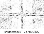 grunge black and white seamless ... | Shutterstock . vector #757802527