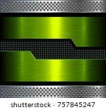 Metal Background  Green...