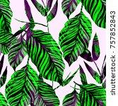 watercolor seamless pattern...   Shutterstock . vector #757852843