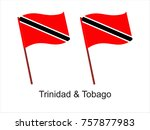vector flag of trinidad and...