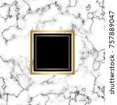 minimalist stone background.... | Shutterstock .eps vector #757889047