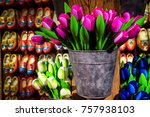 Beautiful Colorful Bouquets Of...