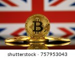 physical version of bitcoin ... | Shutterstock . vector #757953043