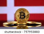 physical version of bitcoin ... | Shutterstock . vector #757953883