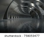 abstract structure product... | Shutterstock . vector #758053477