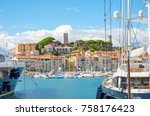 cannes  france   september 18 ... | Shutterstock . vector #758176423