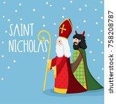 Saint Nicholas Walking With...