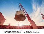 the operation of the vessel... | Shutterstock . vector #758286613