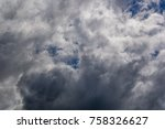 Small photo of The blue skies clouded over abruptly.nature,skylight, ozone, outdoors,climate, cloud, blue