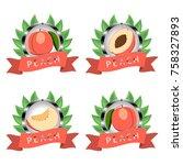 abstract vector illustration... | Shutterstock .eps vector #758327893