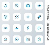 image colorful icons set with...