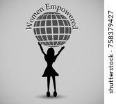 vector illustration of women... | Shutterstock .eps vector #758379427