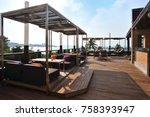 loft bar decoration style | Shutterstock . vector #758393947