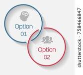 vector infographic template for ... | Shutterstock .eps vector #758466847