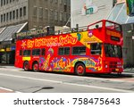 sydney  australia.   on... | Shutterstock . vector #758475643