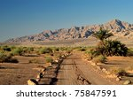 Valley Of Arava And Desert Of...