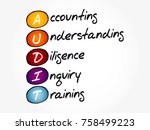 audit   accounting ... | Shutterstock .eps vector #758499223