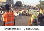 karachi  pakistan   nov 19 ... | Shutterstock . vector #758500003