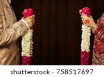 close up of bride and groom...   Shutterstock . vector #758517697