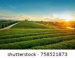 beautiful landscape view of...   Shutterstock . vector #758521873