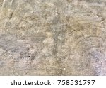concrete texture for background.... | Shutterstock . vector #758531797