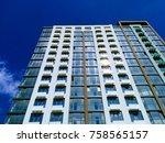new high house | Shutterstock . vector #758565157