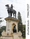 Small photo of Bengaluru / India 14 November 2017 Statue of Sri Chamaraja Wodeyar the 23rd Maharaja of Mysore at Lal Bagh Bengaluru or Bangalore in Karnataka India