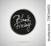 Black Friday Calligraphy...